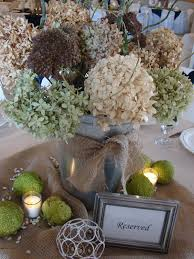 Country Table Decorations Cobblestone Farms Wedding Table Centerpieces Country Style