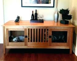 furniture style dog crates. Furniture Style Dog Crates Crate Kennel Double Small Wood Custom By With  Built In Espresso St . N