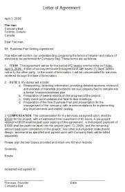 Collection Of Solutions Letter Of Agreement Simple Letter Agreement ...