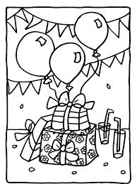 Happy 1st Birthday Coloring Pages Luxury Kleurplaat Cadeautjes