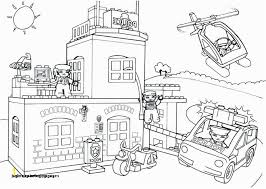 Lego Fire Truck Coloring Page Police Coloring Pages 26 Lego City