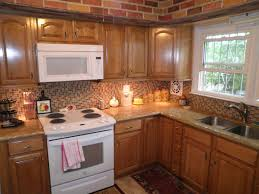 Small Picture Honey Oak Kitchen Cabinets With Granite Countertops Kutsko Kitchen