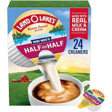 Great prices on creamer for coffee & more groceries. Land O Lakes Mini Moo S Half Half Coffee Creamer 24ct Target