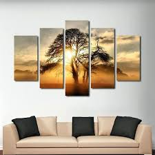 nature canvas wall art forest at dawn multi panel canvas wall art abstract nature canvas wall