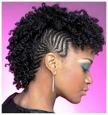 Hair Style For Black Woman three pictures of natural mohawk hairstyles for black women with 7409 by wearticles.com