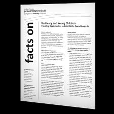 Causal Analysis Resiliency And Young Children Causal Analysis