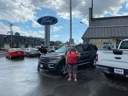 Bailey Ford of Plattsburgh - Mr & Mrs Goff picking up their new Ford  Explorer from Adam Frennier. Thank you for choosing Bailey Ford of  Plattsburgh! | Facebook