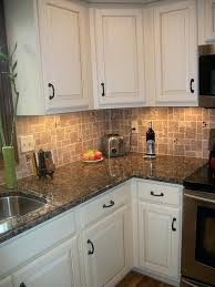 Backsplashes For Kitchens With Granite Countertops Fascinating Granite Countertops With Tile Backsplash Tmacphotoco