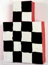 mary heilmann kachina 1985 glazed ceramic 16 1 2 x 11