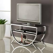 Basketball Display Stand Walmart K and B Furniture Co Inc KB Chrome TV Stand Walmart 68