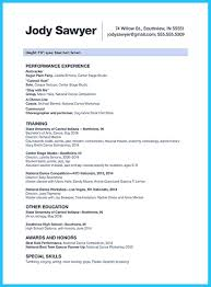 Audition Resume Templates Nice The Best And Impressive Dance Resume Examples