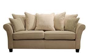 carlton  large pillow back sofa in corrine beige  all sofa