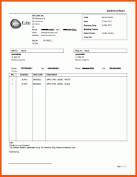 Excel Delivery 7 Delivery Invoice Template Excel Iwsp5