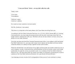 cease and desist letter template 8 free word doents debt sle dispute collection agency for demand