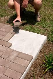 patio pavers over concrete. Contemporary Over How To Put Pavers Over Concrete Inside Patio Pavers Over Concrete O