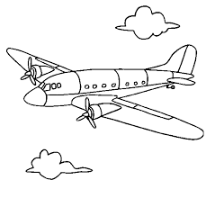 Small Picture Airplane Coloring Page Coloring Book