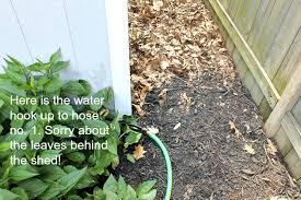 garden soaker hose. How To Install A Soaker Hose Garden