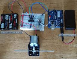 control a dc motor arduino and l293d chip lucky larry arduino l293d dc motor control
