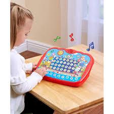 Đồ chơi phát triển ngôn ngữ, giáo dục sớm cho bé Ipad học tiếng Anh thông  minh Tiny - Winfun - 2273