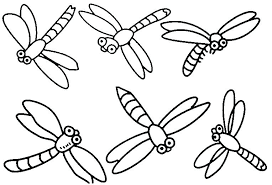 insects coloring pages printable