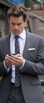 most r tic proposal ever matt bomer fifty  christian grey on his blackberry mattbomer fiftyshades