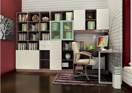 Contemporary Study Room Design With Modern Chair And White Brick