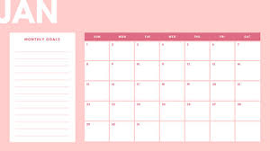 monthly calenar monthly calendar templates canva