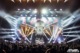 Floyd L Maines Arena Seating Chart Five Finger Death Punch And In This Moment At Floyd L