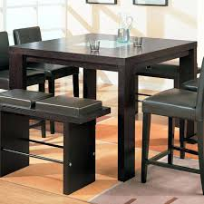 tall dining set tall dining room sets amazing table black dining room sets