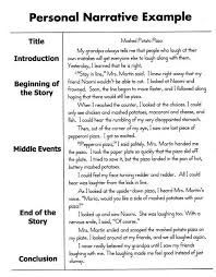 how to write a personal narrative essay for th th grade oc  a childhood memory essay memories essay example