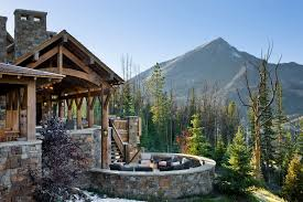 living rooms rustic patio enclosed patio ideas patio rustic with cabin circular curved mountain