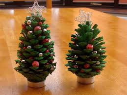 A Blog About Life After The Wedding Join Us For Recipes Meal Pine Cone Christmas Tree Craft Project