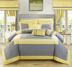 bedroom get more comfort and utmost relaxation in your with modern bedroom with gray yellow fl comforter set queen size