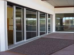 exterior impact sliding doors