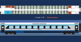 Trenitalia Seating Chart 2019