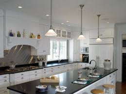 image of simple kitchen island pendant lighting