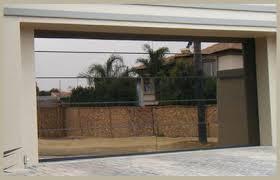 frameless s10 glass garage grey