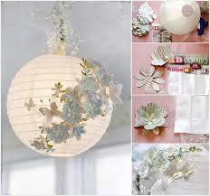 8 embellished paper lantern