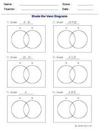Examples Of Venn Diagram Word Problems Venn Diagram Word Problems Worksheet Math Thethirdact Club