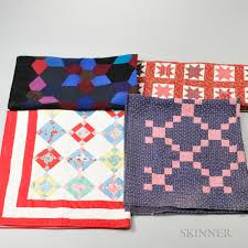 Four Possibly Mennonite Quilts | Sale Number 3038B, Lot Number 639 ... & Four Possibly Mennonite Quilts Adamdwight.com
