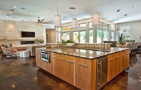 modern home interior design kitchen. Decor Modern Home Design With Small Open Floor Plan Ideas Interiors Decorating. Transitional Interior Kitchen