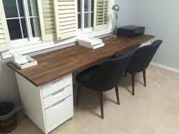 ikea white office desk.  ikea ikea office tables uk furniture double desk 98 inch oak  numerar butcher in white 0