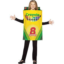 Crayola Crayon Box Child Halloween Costume One Size