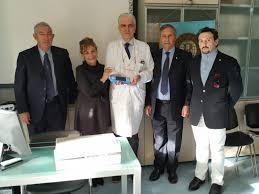 Donato apparecchio al Centro ustioni in memoria delle vittime della strage  di Viareggio - gonews.it