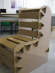 7 Wacky Pieces Of Cardboard Furniture You\u0027ll Have To See ... Chair ...