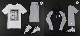 jordan clothing. air jordan 4 retro \u201ccement\u201d apparel hook-ups available at footlocker clothing