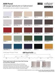 Garage Guard Color Chart Colors Features Smucker Builders