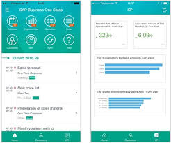 App Sales Sap Business One Sales App Beone Consulting