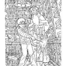 Small Picture Harry Potter Free online coloring pages artwork and drawings