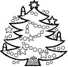 Small Picture Xmas Tree Coloring Pages Christmas Tree Coloring Pages For Kids